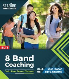 FREE Coaching at Seabird International Enroll for 2 months and get 15 Days FREE OR Pay for 45 Days and get 2 months classes Hurry Up Limited Period Offer ! Get full details at / Address : Seabird International Phase Mohali, Punjab All Colleges, Top Universities, Pte Exam, Overseas Education, Social Media Design, Secondary School, Ielts, Communication Skills, Study Abroad