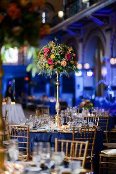 Blue Wedding Design #boldlychicevents
