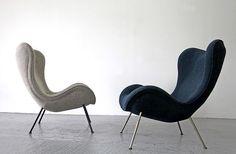 Lounge Sessel von Fritz Neth 1/2