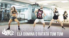 Ela Domina o Ratatá Tum Tum - Wesley Safadão - Coreografia   FitDance - 4k