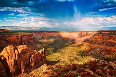 gorgeous vista of Colorado National Monument