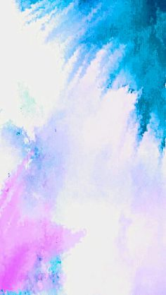 Iphone Wallpaper Background Color Splash Painted Art Version Blue and Pink ombre