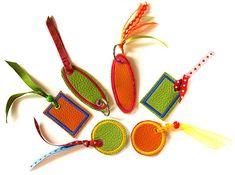 Ein neues Freebie - Lederlabels - Stickbär Blog