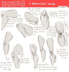 knees ✤ || CHARACTER DESIGN REFERENCES | キャラクターデザイン • Find more at https://www.facebook.com/CharacterDesignReferences if you're looking for: #lineart #art #character #design #illustration #expressions #best #animation #drawing #archive #library #reference #anatomy #traditional #sketch #development #artist #pose #settei #gestures #how #to #tutorial #comics #conceptart #modelsheet #cartoon || ✤: