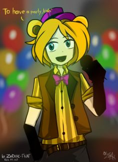 "(Open RP I'm Fredbear, You Can Be Ether A Child Or An Adult, Any Gender.) - I look at all the kids that came to day, 'Time to shine.' I thought. ""What do you kids want to do today?"" I say, putting on a fake smile. ""To party!"" The children shout. I pretend to not hear them ""To have a party, kids?"" -"