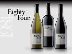 A big day at our sister winery -- Eighty Four Wines! Doug Shafer and Elias Fernandez have just released three new wines -- 2017 Albariño, 2014 Malbec, and 2012 Petite Sirah. Available now at www.eightyfourwines.com!