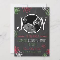 Shop Christmas pregnancy ultrasound announcement Joy created by Anietillustration. Personalize it with photos & text or purchase as is! Christmas Card Pregnancy Announcement, Pregnancy Announcements, Maternity Christmas Card, Sibling Announcement, Pregnancy Ultrasound, Pregnancy Tips, Pregnancy Photos, Holiday Cards, Christmas Cards
