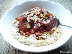 Oatmeal, Yummy Food, Breakfast, Cake, Fitness, Food Ideas, Blog, The Oatmeal, Morning Coffee
