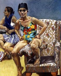 "Paula Rego ""Recreation"", 1996 (Portugal, Expressionism, 20th cent.)"