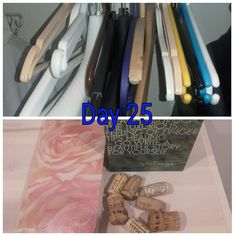 Less clothes -> less hangers? Reducing causes #reducing, I suppose 😊#MinsGame Day 25 already! #LessIsMore #LessIsNow
