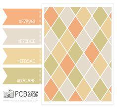 Color Crush - 5.14.2013 - Tangerine, sand, butter and lemon grass.