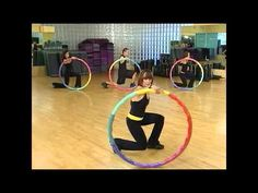 Weighted Sports Hula Hoop Workout - 3 - Lower Body by Rosemary