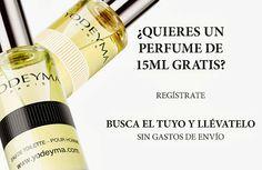 Yodeyma regala muestras gratuitas de sus fragancias y perfumes de mujer y hombre. Solicita la tuya y recibe de manera totalmente gratuita una mini talla de 15 ml.  Promoción válida para España hasta Agotar Existencias.  Más información aquí: http://www.baratuni.es/2013/12/muestras-gratis-perfumes-yodeyma.html  #muestrasgratis #muestras #muestrasgratuitas #gratis #perfumes #fragancias #yodeyma #baratuni