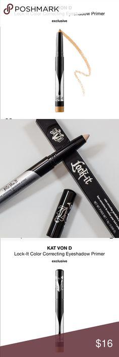 Kay Von D Color Correcting Eyeshadow Primer Brand new  Shade: light Kat Von D Makeup Eye Primer