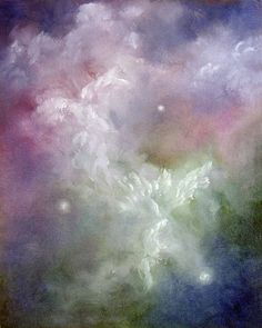 Dancing Angels Painting  - Dancing Angels Fine Art Print
