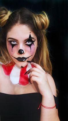 halloween makeup halloween october sf special effects clown makeup evil clown freak show freakshow american horror story teeth evil sad clown scary clown fx sephora #sephoraselfie #halloweenmakeup idea