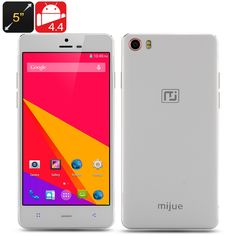 Mijue M690Plus Smartphone5 Inch HD 1280x720 Screen, MTK6592 Octa Core CPU, 1GB RAM, Bluetooth 4.0, Android 4.4 OS White . $128.99. The Mijue M690  Smartphone features a 5 Inch HD 1280x720 Screen, a MTK6592 Octa Core CPU, 1GB of RAM, Bluetooth 4.0 and an Android 4.4 operating system.Mijue M690  SmartphoneThe Mijue combined an Android 4.4 operating system with a mega-powerful octa core processor when they created the M690  smartphone. With eight completely independent cores, the MediaTek…