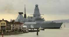 Type 45 destroyer, Royal Navy, UK.