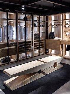 Wardrobe Design, Wall Storage, Walk In Closet, Dressing Room, Cool Designs, Shelves, Bathroom, Closet Ideas, Furniture
