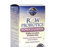 Raw Probiotics - Women 50 & Wiser --- by Garden Of Life