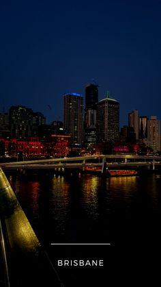 #BRISBANE ♡ #thisisbrisbane // #brisbanecity #australien Brisbane, New York Skyline, River, Outdoor, Australia, Outdoors, Outdoor Games, The Great Outdoors, Rivers