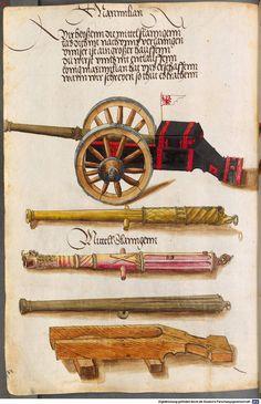 Zeugbuch Kaiser Maximilians I Innsbruck, um 1502 Cod.icon. 222  Folio 57v