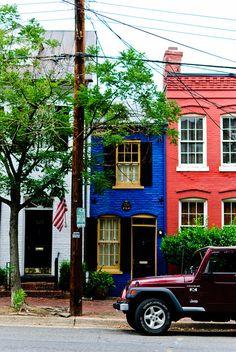 Old Town Alexandria, Virginia by Dr. Derek Mead, via Flickr