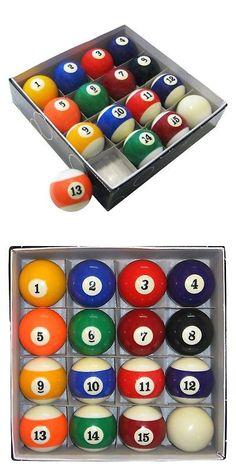 Complete Ball Sets 75193: Hathaway Pool Table Regulation Billiard Ball Set,  Multi, 1