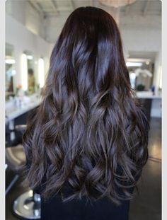 Dark brown/faint purple