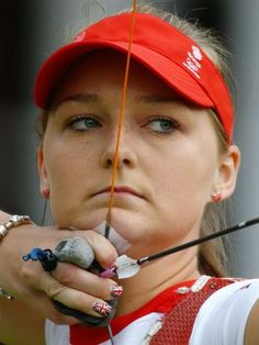 Amy Oilver (GBR) - tiro com arco  Foto: Getty Images