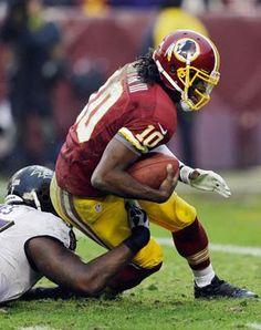 #Washington #Redskins Robert Griffin III Avoids Torn ACL