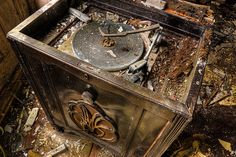 Turntable found in abandoned house