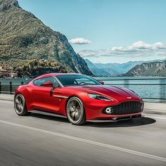 The exhilarating Vanquish Zagato - thanks to unprecedented customer interest a strictly limited run of 99 examples will be built. astonmartin.com/vanquishzagato #cars #luxury #astonmartin