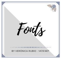 Fuentes / Fonts Folder Cover for Pinterest by Vk19.net