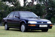 Honda Concerto Saloon UK-spec (MA) '1989–93