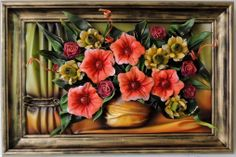 Colorful Flower Leather Bouquet…  http://www.makmarketplace.com  Colorful Flower Leather Bouquet... Leather Flowers  Size: (55cm x 40cm) Frame: Solid Wood, Stained Colors: Red, Yellow, Orange, Green,  Grey, Gold Material: Genuine Leather   https://plus.google.com/communities/107298104499962573861  https://www.facebook.com/pages/MAK-Marketplace/331889076912354  http://www.pinterest.com/MAKMarketplace/