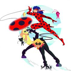 Miraculous - Tales of Ladybug & Cat Noir Fan Forge - WeLoveFine -T-shirts…