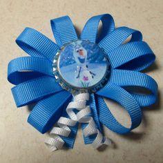 Disney+Frozen+themed+Bottlecap+Hair+Bows+by+simplystitchingcraft,+$3.50