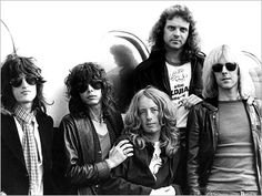 Aerosmith's early daze.
