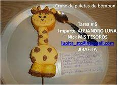 brochetas de bombon de jirafa - Buscar con Google