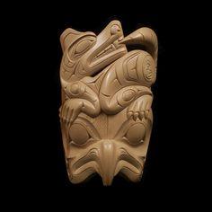 Owl Mask  Darryl Baker  Coast Salish (Tsawout First Nation)