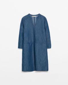 DENIM SHIRT DRESS Ref. 4877/022  HEIGHT OF MODEL:180 CM  59.90 USD
