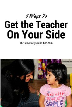 Your child's teacher can be your greatest ally. She has a vested interest in your child, because she spends 5 days a week, 10 months o. Social Anxiety Disorder, Anxiety In Children, Months In A Year, Stress Free, Mental Illness, Anxious, Your Child, Behavior, Need To Know