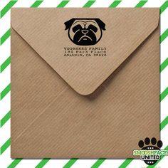 Custom stamp  return address self inking stamp with