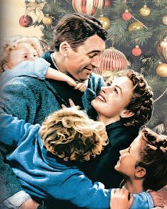 It's A Wonderful Life Starring: James Stewart, Donna Reed, Lionel Barrymore, Thomas Mitchell, & Henry Travers Donna Reed, Old Movies, Great Movies, 1940s Movies, Vintage Movies, Girly Movies, Awesome Movies, Movies Free, Funny Movies