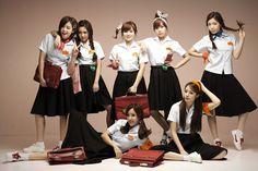 T-ARA - Eunjung + Qri + Boram + Hyomin + Soyeon + Jiyeon + Hwayoung