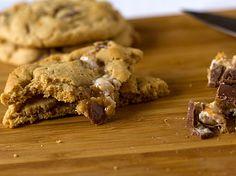 Snicker peanut butter cookies
