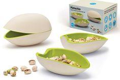 Pistachio serving bowl