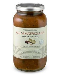 All' Amatriciana 1LB 8oz $16.95