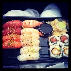 Shushi  Drinks, Ethnic Recipes, Food, Drinking, Beverages, Essen, Drink, Meals, Yemek